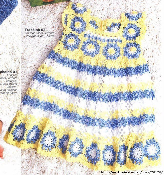 ... tagged infantil verão vestido infantil vestidos vestidos de crochê