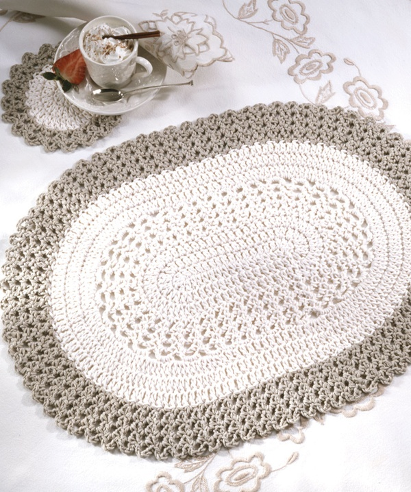 Crochet Placemat Patterns Download Free myideasbedroom.com
