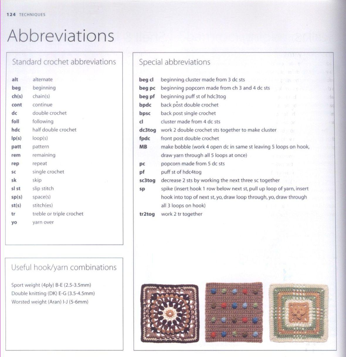 200 Crocheted Blocks for blankets, throws & Afghans 124