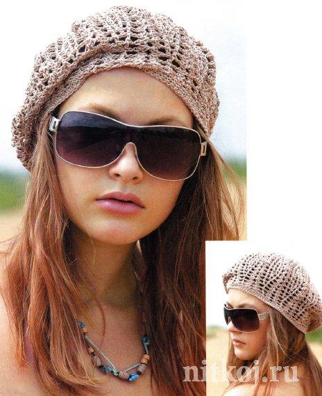beret hat crochet – Gráficos e Receitas e3f44779038