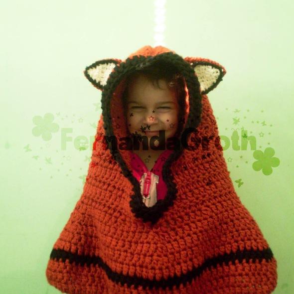 Touca capuz Raposa – cowl fox crochet 0a0dd78536d