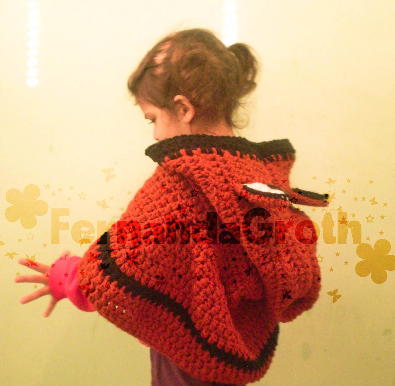 Touca capuz Raposa - cowl fox crochet - Gráficos e Receitas 7e4e03f80d8