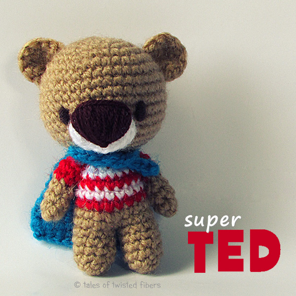 All Free Amigurumi Patterns : Super TED Free Amigurumi Pattern Graficos e Receitas