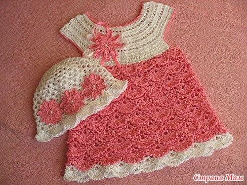 Vestido Crochê Gráficos E Receitas
